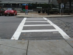 crosswalk after