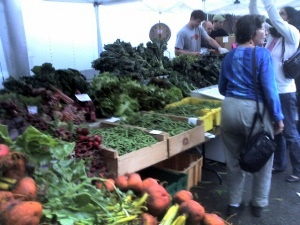 Brookline Farmers Market - photo by John Seay